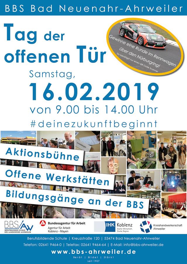 Berufsinfomarkt 2019 an der BBS Neuenahr @ BBS Bad Neuenahr